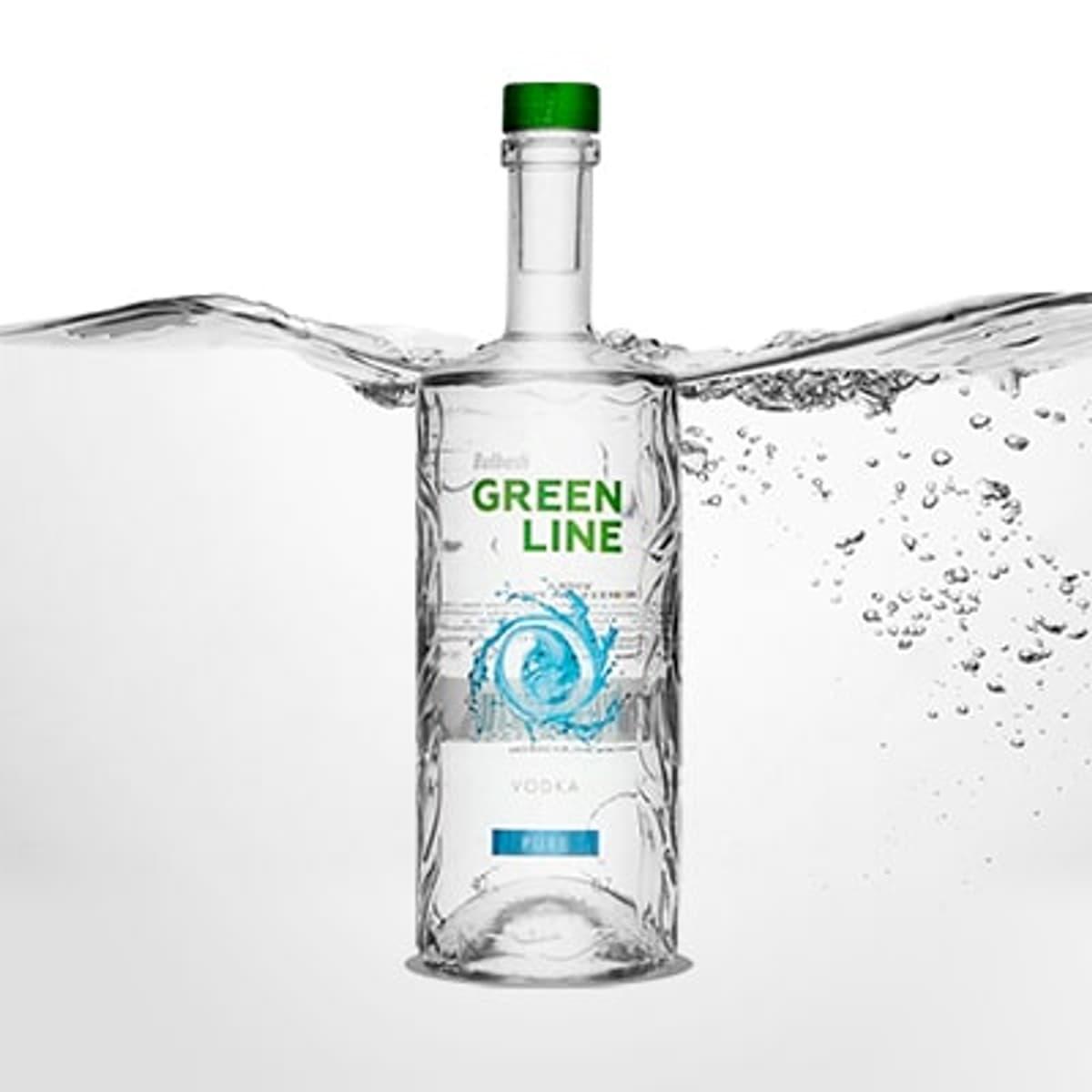 Bulbash Greenline Pure Vodka