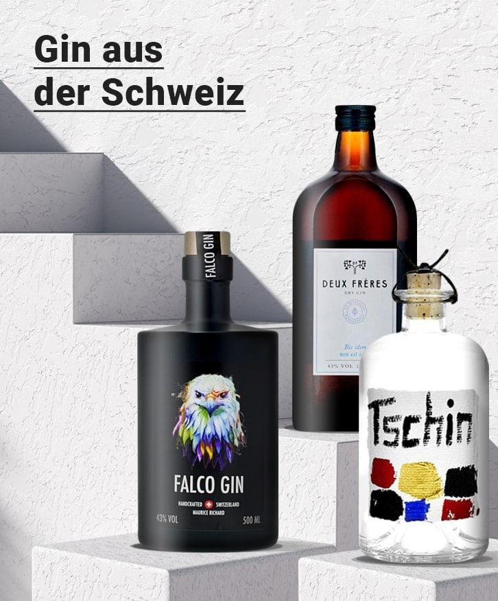 Gin aus der Schweiz