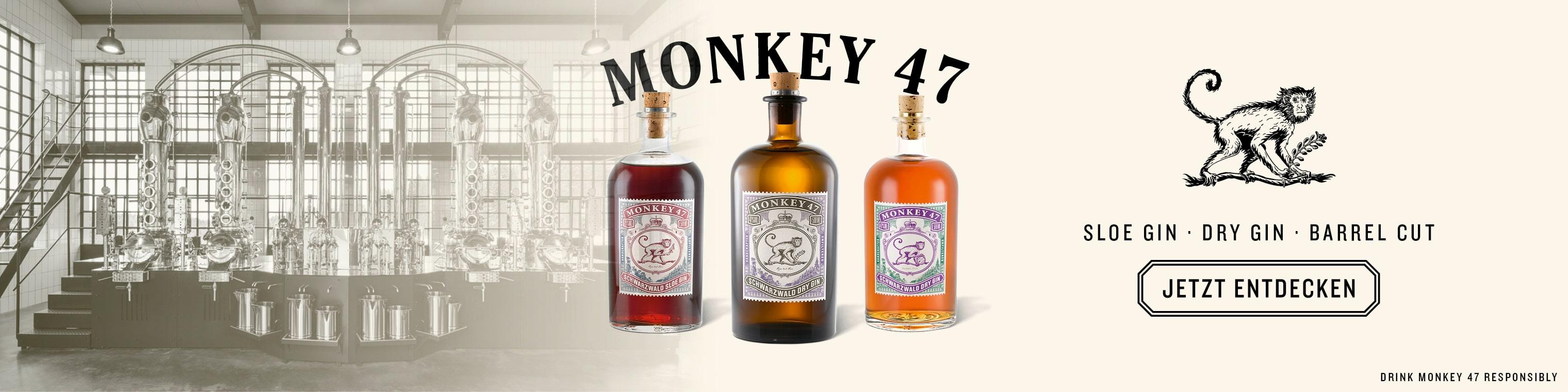Monkey 47 Gin Triple Box