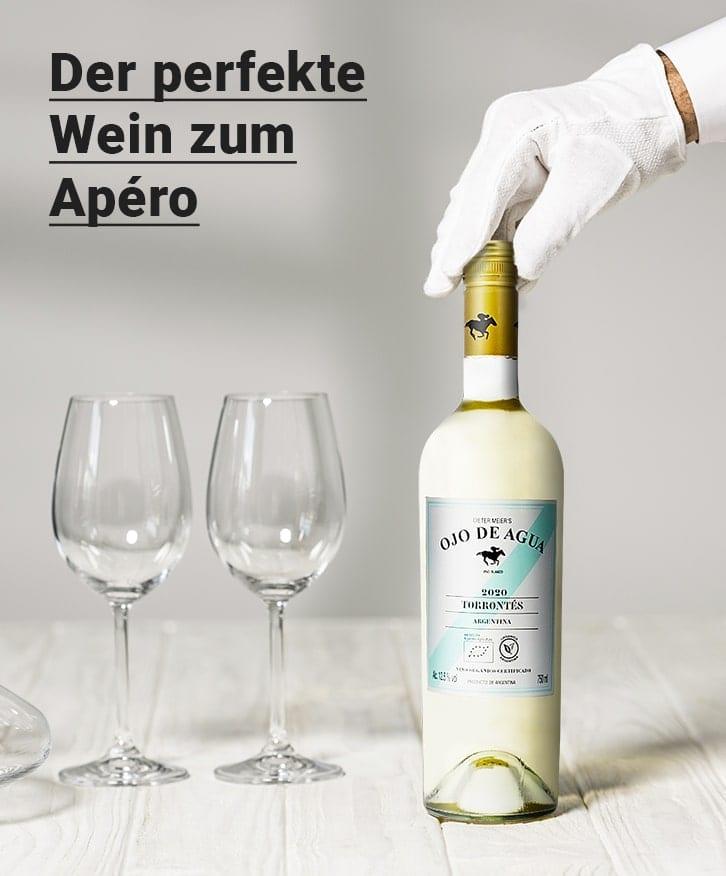 Perfekte Wein zum Apero