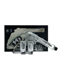 Hijos de Villa Tequila Blanco Silver im Set mit zwei Shotgläsern 20cl