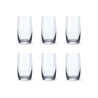 Bohemia Crystal Glass Ideal High Ball Glas 38cl, 6er-Set