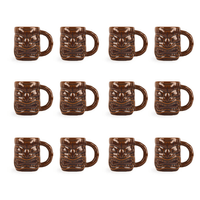 Libbey Tiki Mug Brown 47cl, 12er-Set