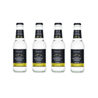 Swiss Mountain Spring Zero Classic Tonic Water 20cl, 4er-Pack