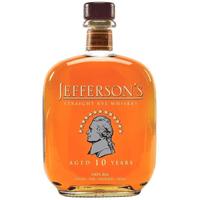 Jefferson's Straight Rye Whiskey 10 Years 75cl