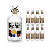 Tschin Gin 50cl mit 8x Doctor Polidori's Dry Tonic Water