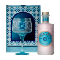 Malfy Gin Rosa 70cl Set mit Glas