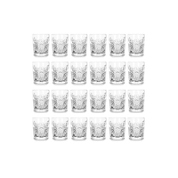 Libbey Hobstar Shotglas 6cl, 24er-Pack