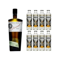Uncle Val's Small Batch Botanical Gin 75cl mit 8x 1724 Tonic Water