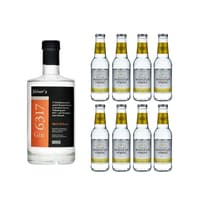 Gin 6317 50cl mit 8x Swiss Mountain Spring Classic Tonic Water