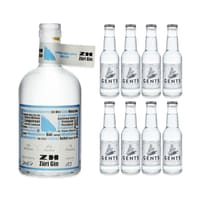 ZH Züri Gin mit 8x Gents Tonic Water