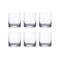 Bohemia Crystal Glass Barline O.F. Whiskyglas 28cl, 6er-Set