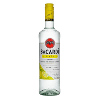 Bacardi Limon 70cl (Spirituose auf Rum-Basis)