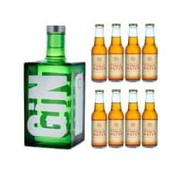 Clouds Gin 70cl avec 8x Tom's Tonic Water