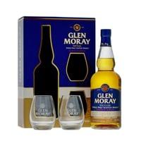 Glen Moray Chardonnay Cask Finish Single Malt Whisky 70cl Set mit 2 Gläser