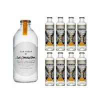 Our Vodka / Amsterdam 35cl avec 8x 1724 Tonic Water