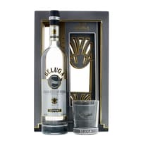 Beluga Noble Vodka 70cl mit Tumbler Glas