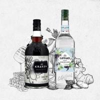 Cocktail Rum Swizzle