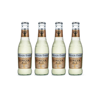 Fever-Tree Ginger Ale 20cl Pack de 4