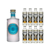 Malfy Gin Rosa 70cl mit 8x 1724 Tonic Water