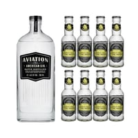 Aviation American Dry Gin mit 8x Fentiman's Tonic Water