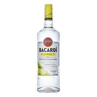 Bacardi Limon 100cl (Spirituose auf Rum-Basis)