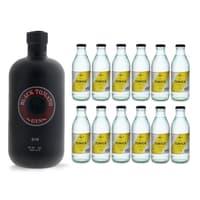 Black Tomato Gin 50cl mit 12x Acqua Tonica Noe Mendrisio