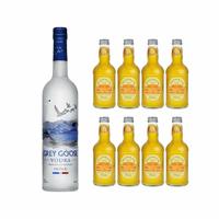 Grey Goose Vodka 70cl avec 8x Fentiman's Mandarin & Seville Orange