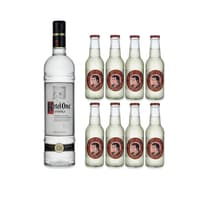 Ketel One Vodka 70cl mit 8x Thomas Henry Ginger Beer