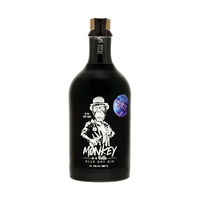 Monkey in a Bottle Blue Dry Gin Silber Edition 50cl