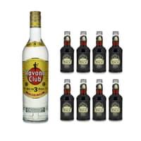 Havana Club 3 Años Rum 70cl avec 8x Fentimans Curiosity Cola