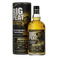 Big Peat 25 Years Blended Malt Whisky 70cl