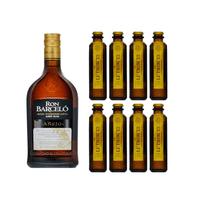 Ron Barcelo Añejo Rum 70cl mit 8x Le Tribute Ginger Beer
