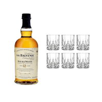 The Balvenie 12 Years Double Wood mit 6 RCR D.O.F. Tumbler