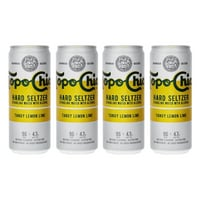 Topo Chico Tangy Lemon Lime Hard Seltzer 33cl, 4er-Pack