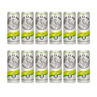 White Claw Natural Lime Hard Seltzer 33cl, Pack de 12