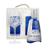 Gin Mare Mediterranean Gin 70cl Set mit Glas