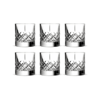 Ginza Tall Cuts Verre Old Fashioned 30cl, Pack de 6