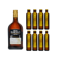 Ron Barcelo Añejo Rum 70cl mit 8x Le Tribute Ginger Beer