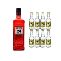 Beefeater 24 London Dry Gin 70cl mit 8x Thomas Henry Tonic Water