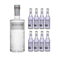 The Botanist Islay Dry Gin 70cl avec 8x Cucumis Lavendel