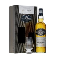 Glengoyne 12 Years Whisky 70cl Set mit Glas
