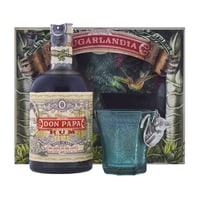 Don Papa Rum Geschenkbox mit Glas 70cl