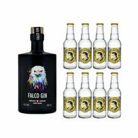 Falco Gin 50cl mit 8x Thomas Henry Tonic Water
