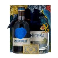 La Hechicera Fine Aged Colombian Rum 70cl Set mit Glas