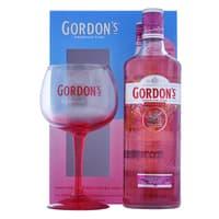 Gordon's Pink Gin 70cl Set mit Copa Glas