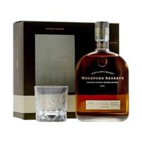 Woodford Reserve Distiller's Select Whiskey 70cl Set mit Glas