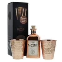 Copperhead The Alchemist's Dry Gin 50cl mit 2 Kupferbecher