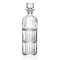 RCR Style Combo Decanter mit Whiskygläsern