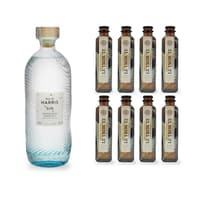 Isle of Harris Gin 70cl avec 8x Le Tribute Tonic Water